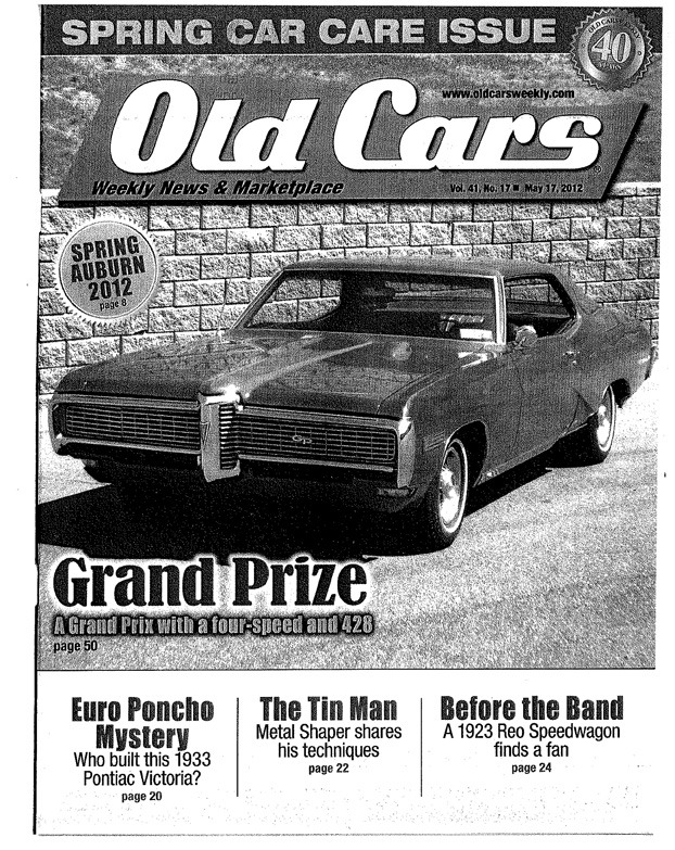 old-cars-weekly-cover - The Tin Man\'s Garage