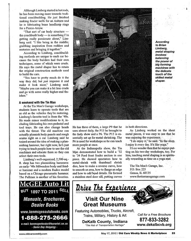 old-cars-weekly-page-23 - The Tin Man\'s Garage