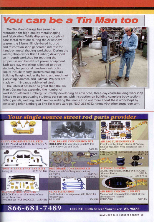 Featured Media Archive - The Tin Man's Garage
